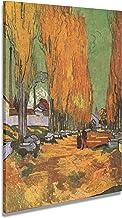 digitalpix Artenòr Quadro Van Gogh Les Alyscamps 1888 - Impresión sobre lienzo (67 x 86 cm)