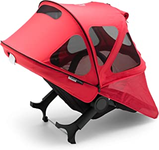 Bugaboo Donkey Breezy Sun Canopy, Neon Red