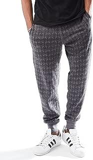 Rebel Canyon Young Men's Slim Fit Drawstring Waist Printed Jogger Sweatpant