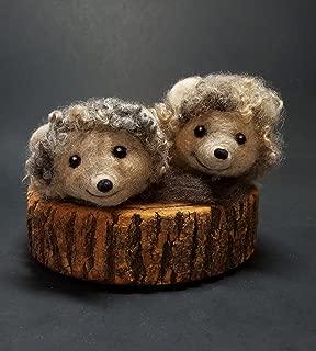 wire hedgehog sculpture