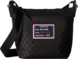 Tommy Hilfiger - Nylon Patch Mini Convertible Quilt Hobo