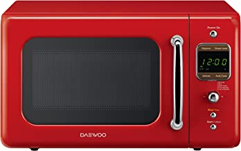 emerson 900 watt microwave red