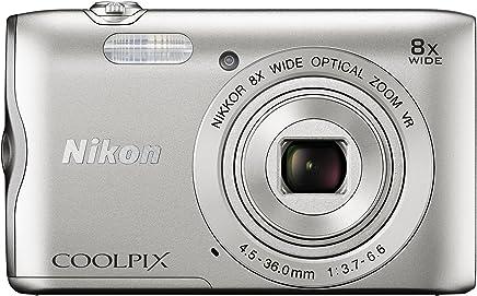 Nikon Coolpix A300 20 MP Point & Shoot Digital Camera,...