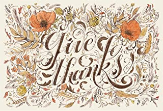 Hester and Cook Die-Cut Give Thanks Placemats (Thanksgiving place-mat)