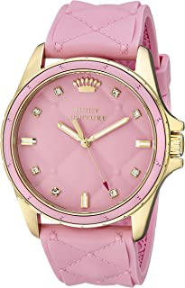 Juicy Couture Women's 1901244 Stella Analog Display Quartz Pink Watch