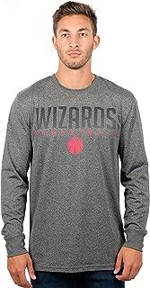 Ultra Game NBA Men's Athletic High-Performance Long Sleeve Tee Shirt