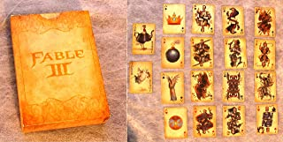 Playing Cards from Fable III Limited Collector's Edition Set! Open Deck