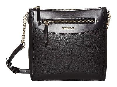 Fiorelli Ashley Crossbody (Black) Handbags