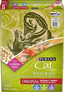 Purina Cat Chow Naturals Original With Real Chicken & Salmon Adult Dry Cat Food