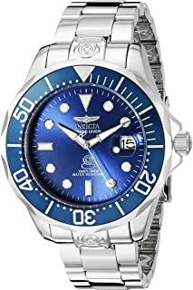 Invicta Men's 16036SYB Pro Diver Analog Display Japanese Automatic Silver Watch