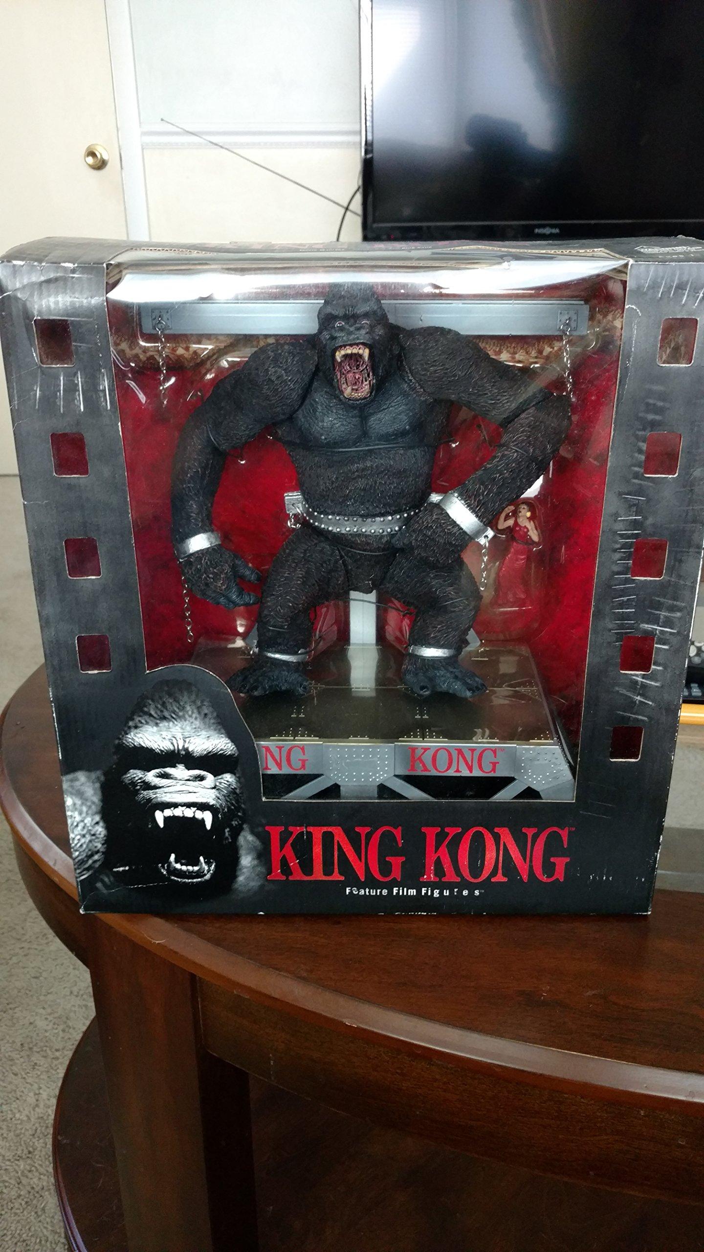 King Kong McFarlane Toys Movie Maniacs Playset MIB #8061