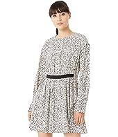 Inverse Floral Long Sleeve Dress