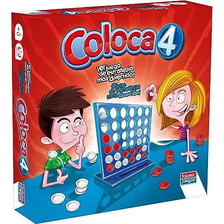 Falomir - Coloca 4 Juego de Mesa, Multicolor (646469)