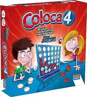 Falomir- Coloca 4 Juego de Mesa Multicolor única (646469)
