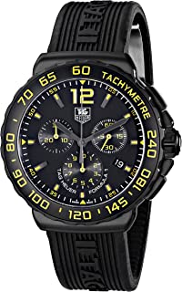 TAG Heuer Men's CAU111E.FT6024 Formula 1 Analog Display Quartz Black Watch