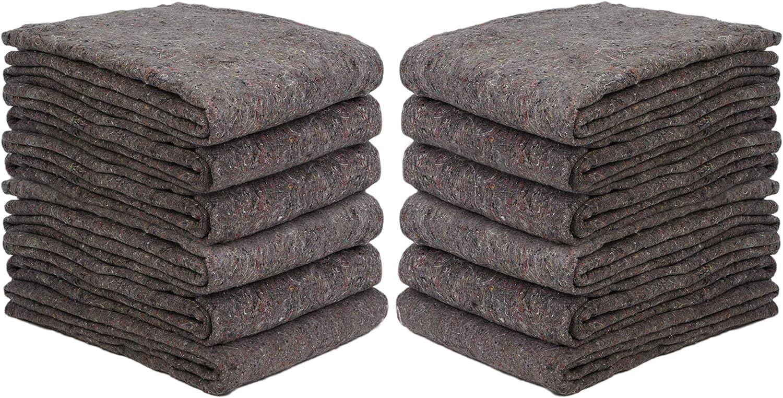 Max 77% OFF New Haven 1 Dozen Philadelphia Mall Textile Moving Per Size 54x72 Cut Blankets