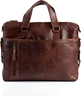 leather office laptop bags