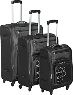 Kamiliant by American Tourister - Koti Softside Spinner Luggage set of 3pcs