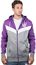 Ultra Game NBA Men's Full Zip Soft Fleece Sweatshirt Hoodie Jacket