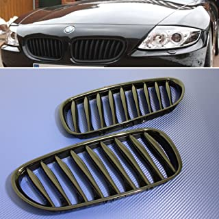 Front Grille Grill Gloss Black FOR 2003-08 BMW E85 Roadster E86 Coupe Z4 cabriolet