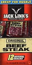 Jack Link's Premium Cuts Beef Steak, Original, 1-Ounce (Pack of 12)
