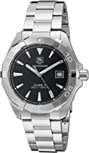 TAG Heuer Men's 'Aquaracer' Swiss Automatic Stainless Steel Dress Watch (Model: WAY2110.BA0928)