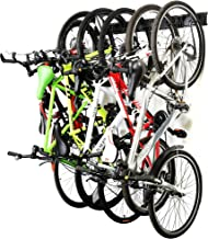 Ultrawall Bike Storage Rack,6 Bike Storage Hanger Wall Mount for Home & Garage Holds Up to 300lbs