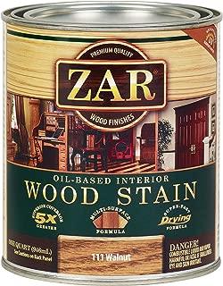 ZAR 11112 Wood Stain, QT, Walnut