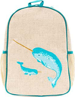 SoYoung Teal Narwhal Toddler Backpack