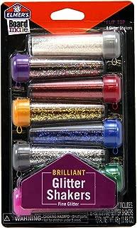 Elmer's Board Mate Glitter Shakers, 8 Flip-Top Shakers in 8 Vibrant Colors (E3066)