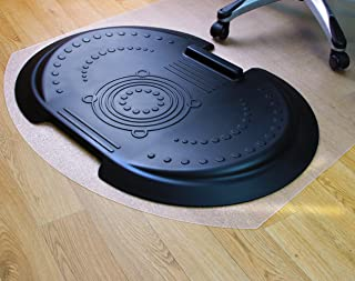 AFS-TEX 5000 S2S | Sit-Stand Desk Mat Pack | Anti Fatigue Comfort Mat for Standing and Chair Mat for Sitting | Anti-Slip for all Hard Floor Types