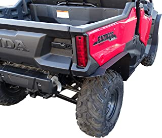 MudBusters HDPE fender extensions for Honda Pioneer 1000-3 (Extra Coverage)
