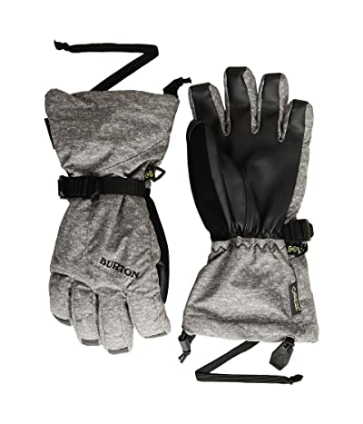 Burton Kids GORE-TEX(r) Dryride Gloves (Little Kids/Big Kids) (Monument Heather) Snowboard Gloves