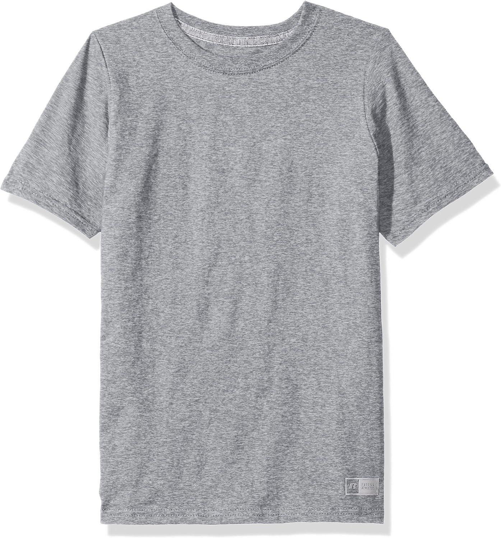 Russell Athletic Big Boys' Cotton Performance Short Sleeve T-Shirt