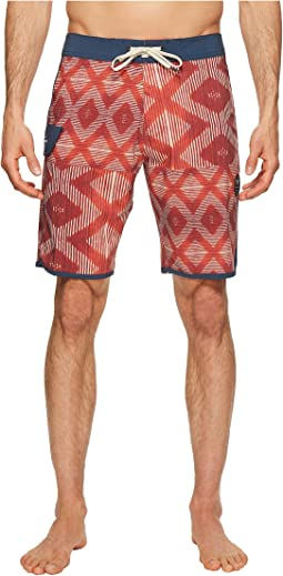 Sumbawa Washed Four-Way Stretch Boardshorts 20""