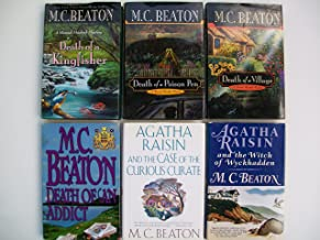 Hamish Macbeth Mystery Series & Agatha Raisin Mystery Series (Set of 6) Death of a Kingfisher;Death of a Poison Pen; Death of a Village; Death of an Addict; Case of Curious Curate; Witch of Wyckhadden