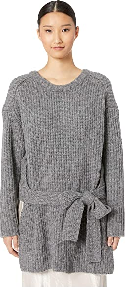 Extrafine Merino Wool Knit Sweater Top