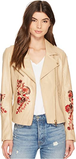 Floral Moto Jacket in Wildflower