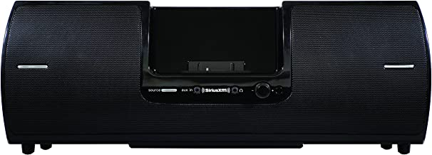 SiriusXM SXSD2 Portable Speaker Dock Audio System for Dock and Play Radios (Black) (Renewed)