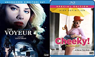 Tinto Brass Blu-ray Bundle - Cheeky & The Voyeur 2-Movie Italian Erotic Classics Collection