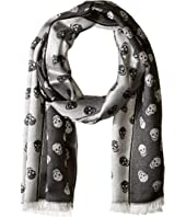 Alexander McQueen - All Over Skull Scarf