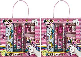 Unicorn Stationary Set for Girls, Stationary Set for Girls, (2 Pack) Kids Stationary Set Comes with Unicorns Gifts for Gir...