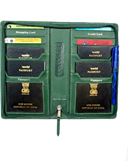 Sukesh Craft Men's 2Gether Passport Holder for 4 Passports