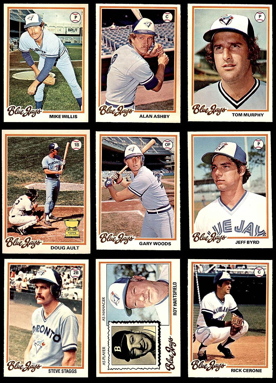 1978 O-Pee-Chee Max 53% OFF San Francisco Mall Blue Jays NM Team Set