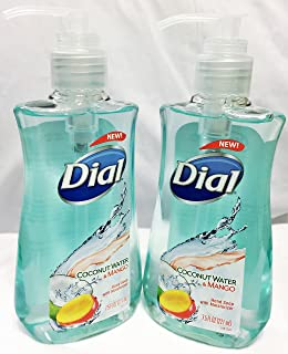 Dial Coconut Water & Mango Hand Soap,7.5 oz each, 2 PK
