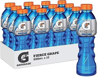 Gatorade Fierce Grape Sports Drink, 12 x 600ml