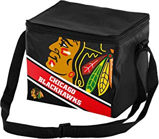 FOCO NHL Unisex Big Logo Stripe 6 Pack Cooler