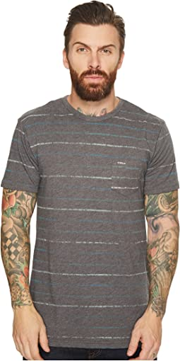 VISSLA - Reeler Reverse Printed Short Sleeve Pocket Knit T-Shirt