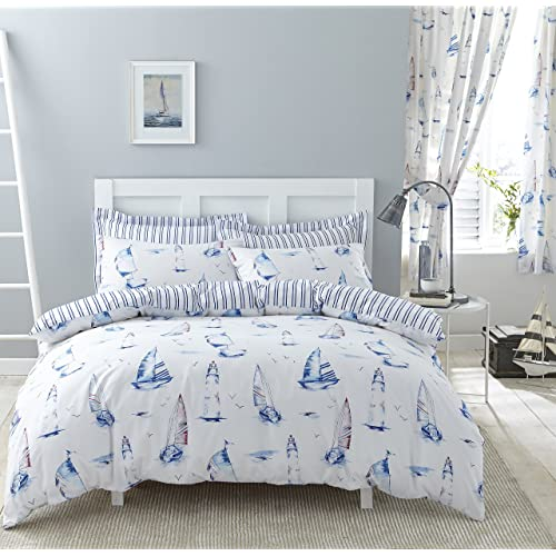 Blue Bedding with Matching Curtains: Amazon.co.uk