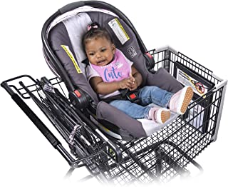 Totes Babies Car Seat Hammock Carrier for Shopping Carts - Holds All Car Seat Models - Shopping with Babies Made Simple - Meets All CPSC Safety Standards - Hammock Style Design